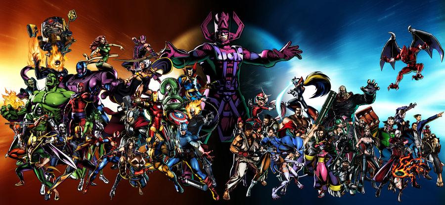 Marvel super heroes names